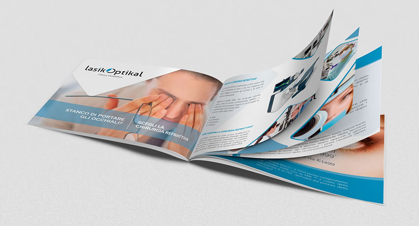 rjr design studio clinic brochure ophthalmologist london