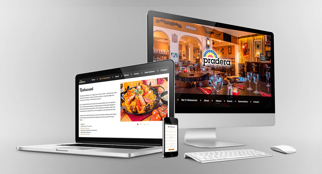 rjr design studio restaurant web development london